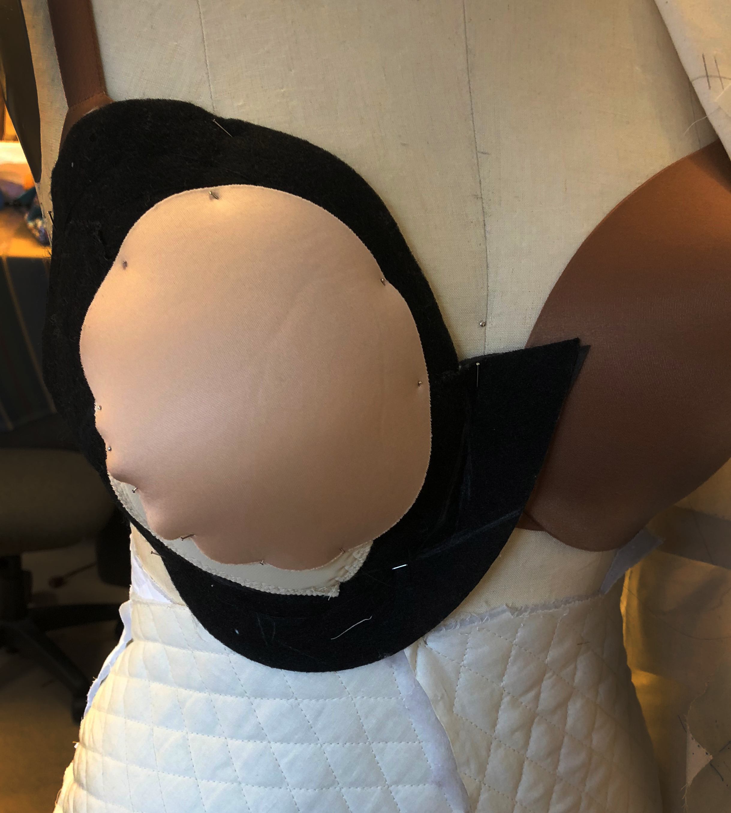New breast padding