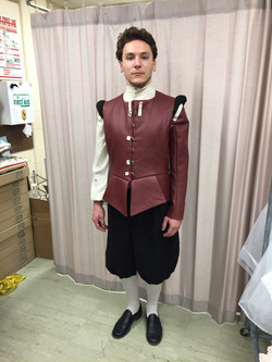 Fitting of Doublet and Pants