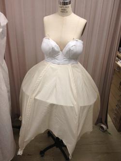 Mock up of skirt