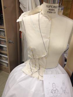 Front Jacket Drape