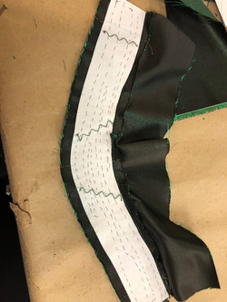 Dress Collar detail