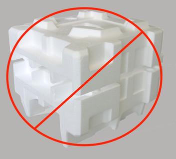 Getting lots of deliveries? Deliver your Styrofoam to MEC