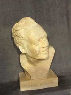 terracotta bust of R Vasselin