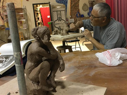 Work with Master Kiu Yamamoto