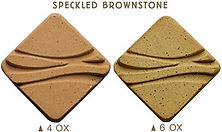 Speckled brownstone clay