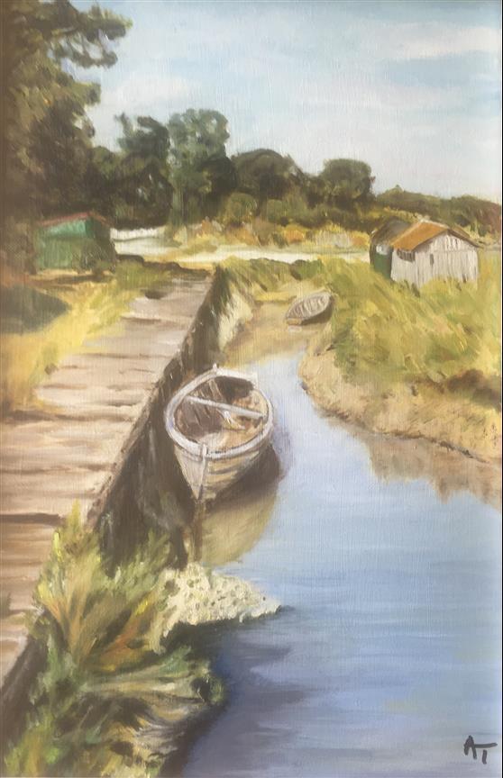 AMT001 - La barque Ile d Oleron - Artist