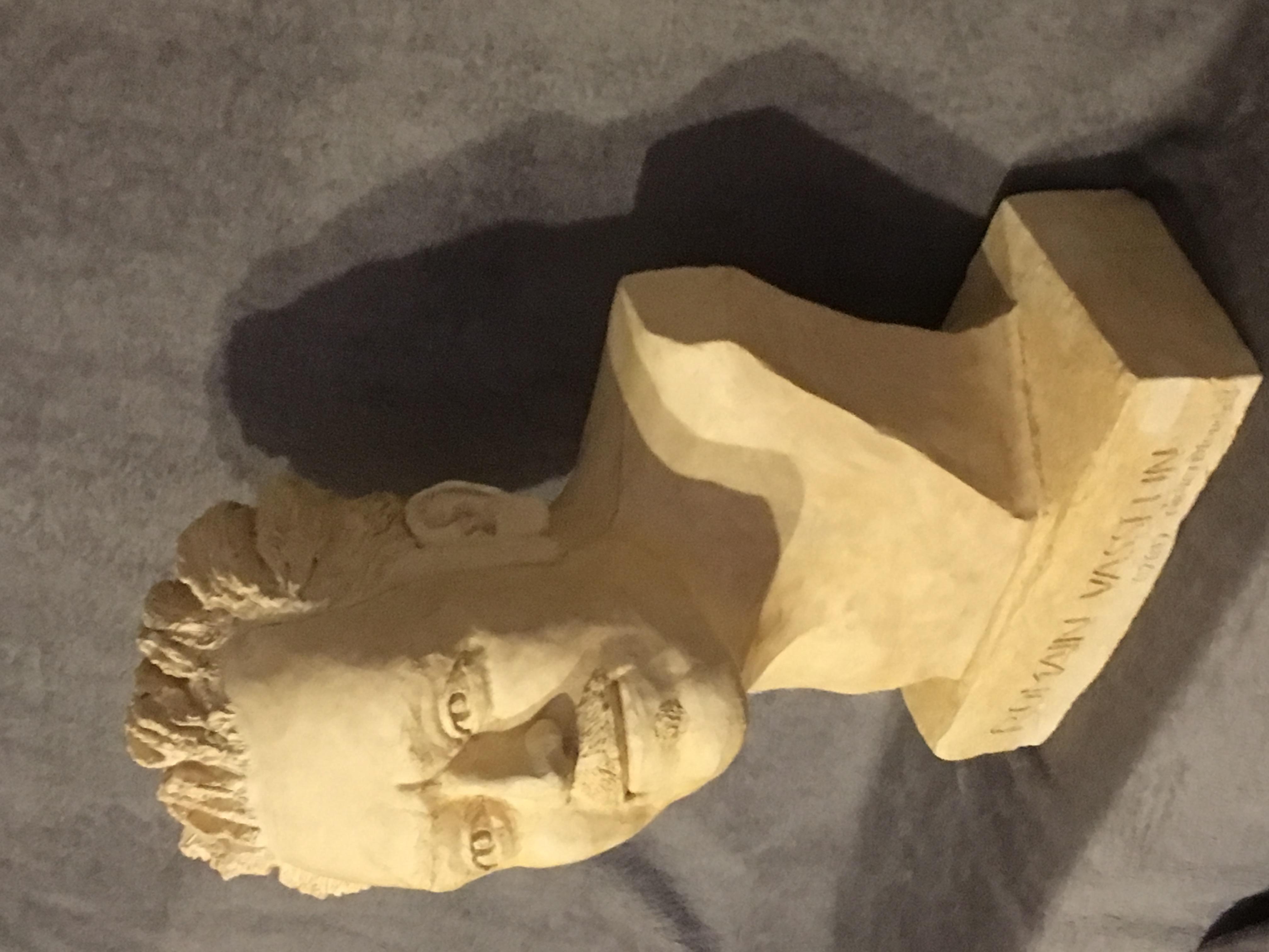 Terracotta bust R Vasselin