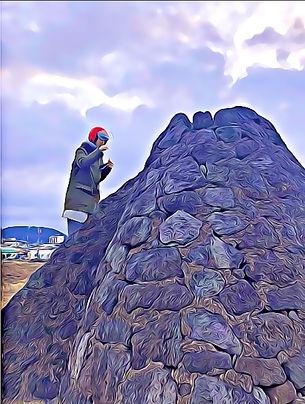 03 Gimnyeong Village in Jeju - Lava Ston
