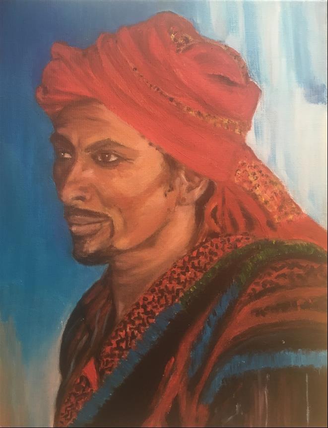 AMT007 - Le berbere - Artist AMT - Paint