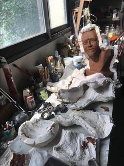 Demoulage statue