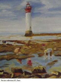 AMT012 - A maree basse autour du phare -