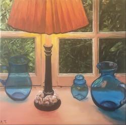AMT009 - Les vases bleus - Artist AMT -