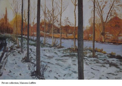 AMT014 - Hiver - Artist AMT - Painting O