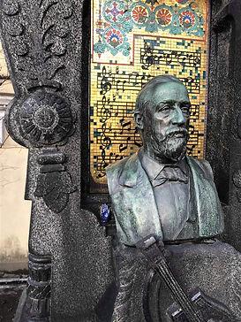 Alexander Bordin tombstone January 2020