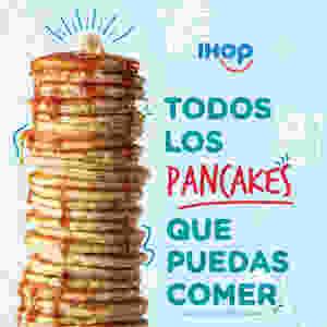 Todos los pancakes que puedas comer