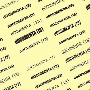 dOCUMENTA 13 - Fridericianum Museum, KASSEL (DE) • VISUAL IDENTITY