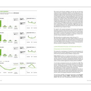PIRELLI • ANNUAL REPORT 2009