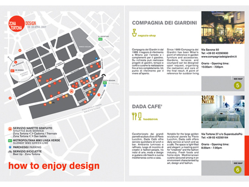 ZONA TORTONA DESIGN • DESIGN WEEK MILANO 2007