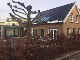 Villa de Geest naderd voltooiing