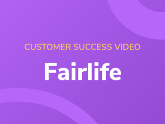Customer Success Video with Fairlife