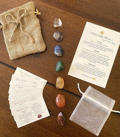 7 Healing Stones Everyone Should Have Bundle w/Guidebook