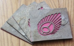 The Flowering Feather Coasters