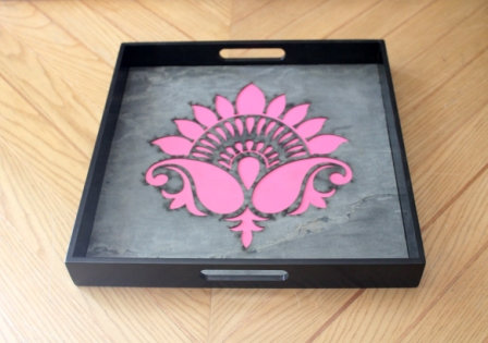 The Lively Lotus Tray