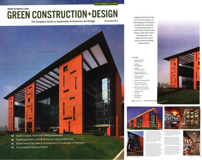 Green construction + Design, Adobe Campus, December 2016