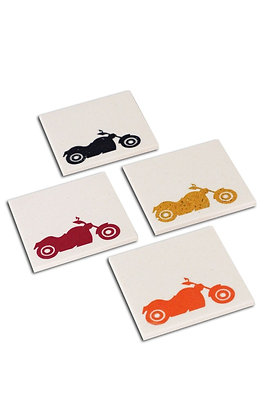 The Biker's Collection Coasters