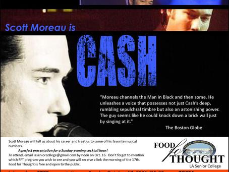 Scott Moreau IS Johnny Cash!