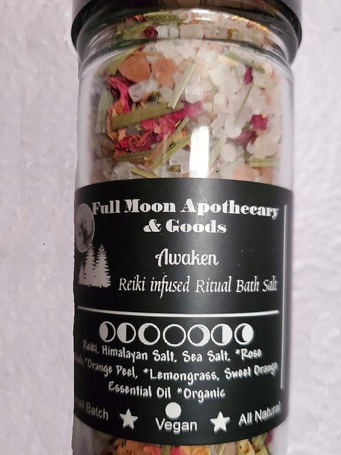 Awaken: Reiki Infused Ritual Bath Salt