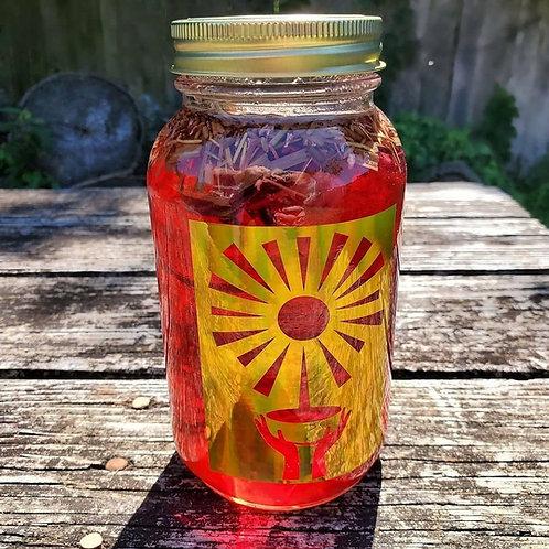 Organic Hibiscus Sun Tea
