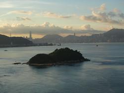 Insel vor Hong Kong