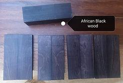 African Blackwood handle material.jpg