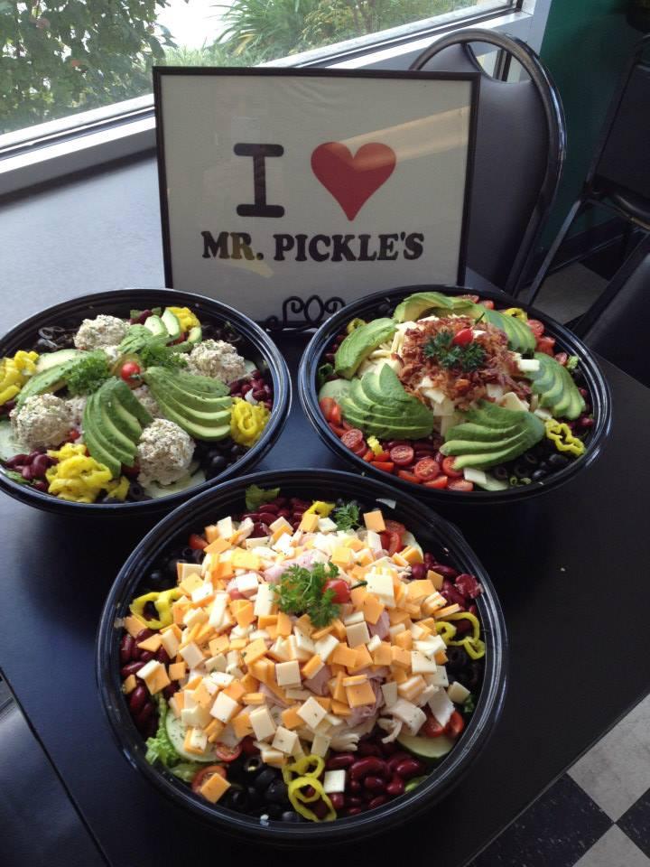 mr pickles salad bowl