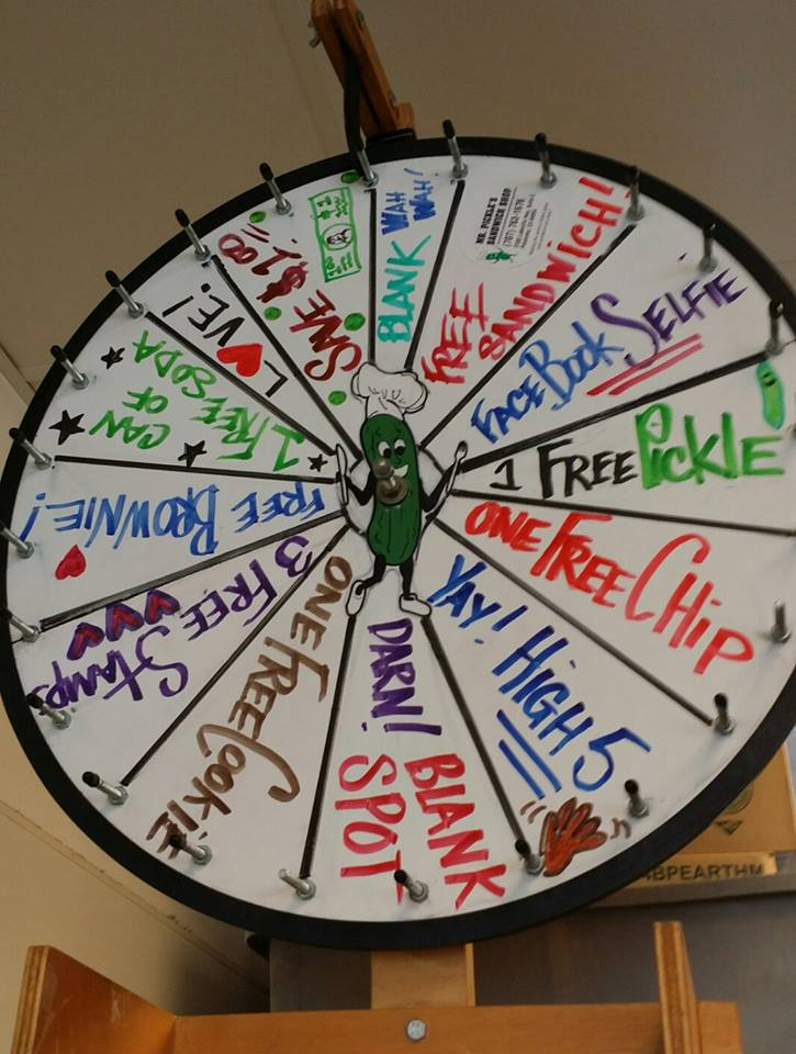 pickle wheel