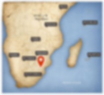 KRUGER PARK MAP LOCATION
