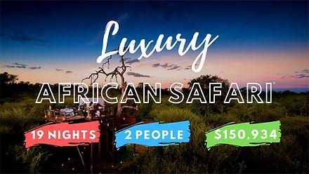 BES LUXUY SAFARI IN AFRICA