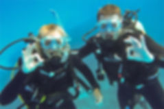 Scuba Diving on Honeymoon