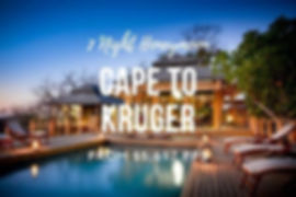 Cape to Kruger Honeymoon