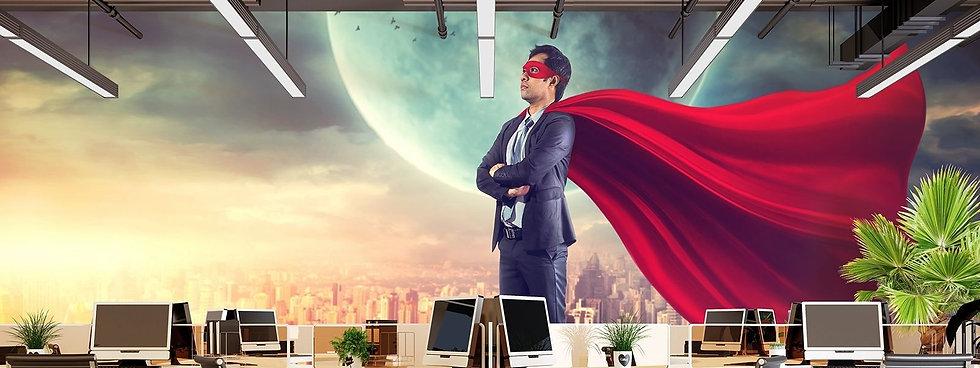 WALL GENIE - HERO - OFFICE - SUPERHERO (