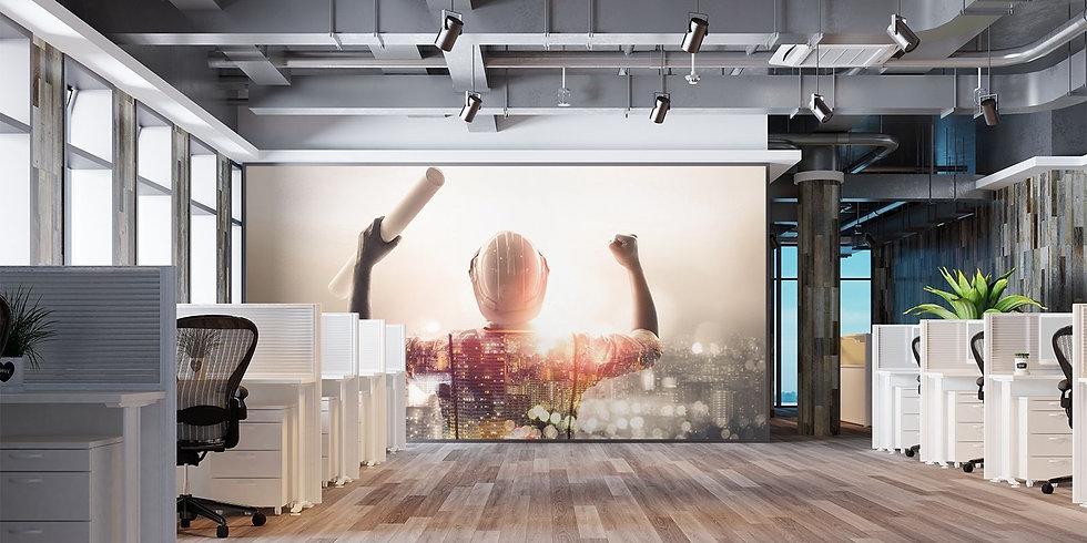 WALL GENIE - HERO - OFFICE - WOODEN -FLO