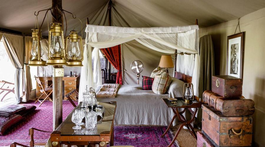 Singita Sabora Camp Room