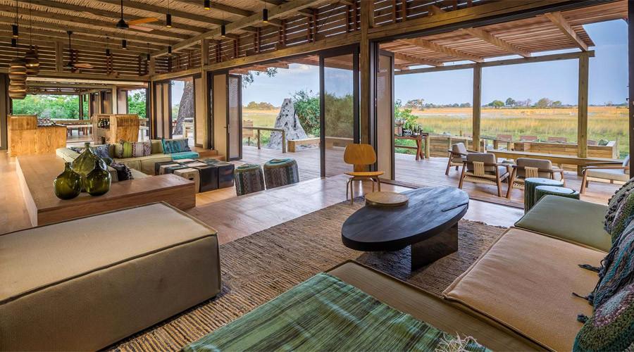 Vumbura Lodge Main Area View