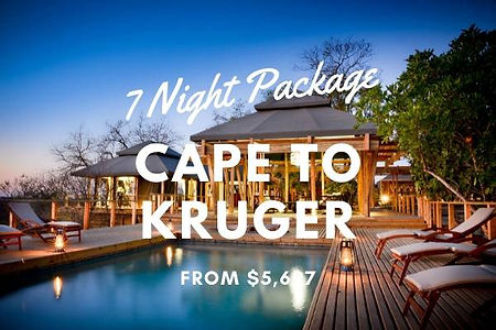 Cape to Kruger Package
