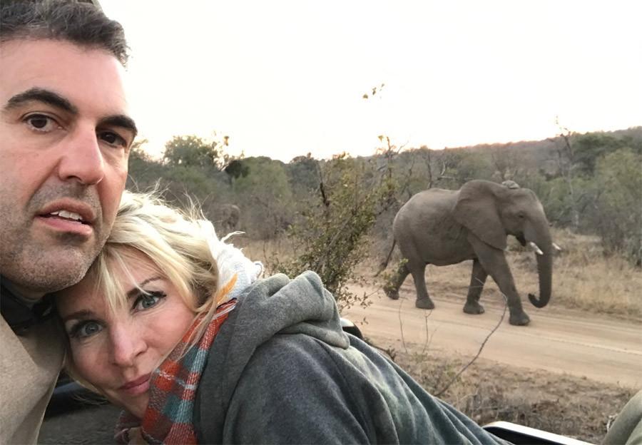 The Dalli's on Safari in Garonga