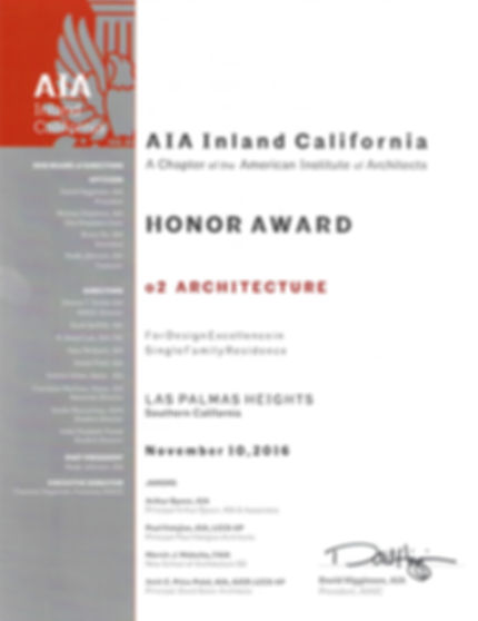 AIA Honor Award