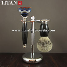 Купить  классический бритвенный набор Fusion 5 (Gillette fusion), TITAN 1918  в Интернет-магазине в Москве «TITAN1918.com HAND MADE PRODUCT»