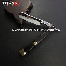 Купить опасную бритву TITAN 1918, сталь Japan ACRO, T.H 70 HRC в интернет-магазине в Москве «TITAN1918.com HAND MADE PRODUCT»