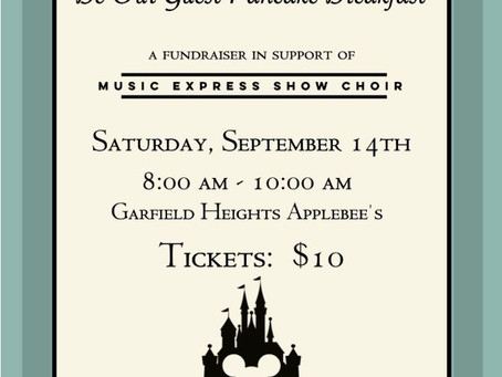 Be Our Guest Pancake Breakfast